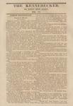 The Kennebecker : September 3, 1829 by Henry Knox Baker
