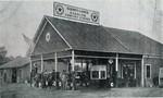 Gunnison's Gasoline Comfort station