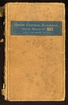 Maine Central Railroad Engineering Note Book No 103 by Maine Central Railroad Company