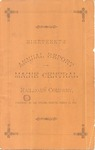 Maine Central 1881 Annual Report