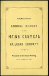 Maine Central 1886 Annual Report