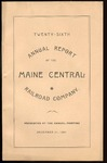 Maine Central 1887 Annual Report