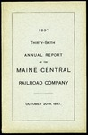 Maine Central 1897 Annual Report