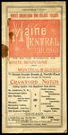 Maine Central Time Table June 6th 1897