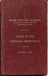 Maine Central Operating Dept Rules - 1909