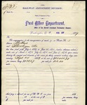 Maine Central and U.S.Post Office Dept Agreement