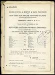 Maine Central Potatoes and Turnips Tariff 1896