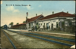 Maine Central Station at Newport Jct.