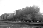 Maine Central 408 at Rockland, 1936