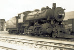 Maine Central 514 at Foxcroft 1941