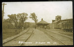 Maine Central Station at North Anson