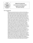 Legislative History:  Joint Resolution Honoring the Honorable Dan A. Gwadosky (HP1194)