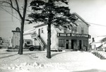 Movie Theater and WWII Service Roll, Limestone, Maine 1948 or 1949 by Frost Memorial Library, Limestone, Maine