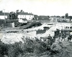Limestone, Maine Dam in 1958 by Frost Memorial Library, Limestone, Maine