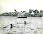 Children Swimming, Limestone, Maine, 1950 by Frost Memorial Library, Limestone, Maine
