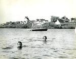 Children Swimming, Limestone, Maine, 1950