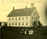 Limestone, Maine Village School, ca. 1909 by Frost Memorial Library, Limestone, Maine
