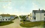 Postcard of Main Street, Limestone, Maine, ca. 1910s