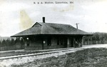 B & A Station, Limestone, Maine