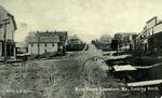 Postcard of Main Street, Looking South, Limestone, Maine, ca. 1909