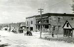 Postcard of Masonic Building, Limsetone, Maine