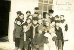Students of Limestone School, Limestone, Maine, ca. 1909