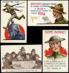 Byron L. Hagensick's WW1 Postcards