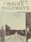 Maine Highways, October 1932 by Maine Highway Commission
