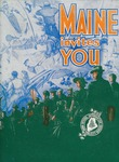 Maine Invites You, 1945 by Maine Publicity Bureau