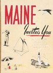 Maine Invites You, 1959 by Maine Publicity Bureau