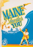 Maine Invites You, 1949 by Maine Publicity Bureau