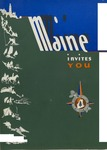 Maine Invites You, 1940 by Maine Publicity Bureau