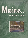 Maine Invites You, 1955 by Maine Publicity Bureau