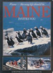 Maine Invites You, 1988 by Maine Publicity Bureau