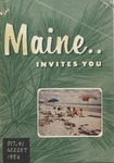 Maine Invites You, 1956 by Maine Publicity Bureau