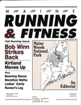 Maine Running and Fitness October 1995 Issue 10 by Lance Tapley