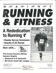 Maine Running and Fitness December 1995 Issue 12 by Lance Tapley