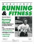 Maine Running and Fitness March 1996 Issue 14 by Lance Tapley