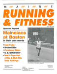 Maine Running and Fitness May 1996 Issue 16 by Lance Tapley