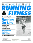 Maine Running and Fitness June 1996 Issue 17 by Lance Tapley