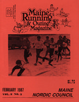 Maine Running & Outing Magazine Vol. 8 No. 2 February 1987 by Robert E. Booker
