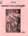 Maine Running Vol. 2 No. 7 July 1981 by Robert E. Booker