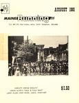 Maine Running Vol. 2 No. 8 August 1981 by Robert E. Booker