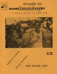 Maine Running Vol. 2 No. 9 September 1981 by Robert E. Booker