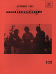 Maine Running Vol. 2 No. 10 October 1981 by Robert E. Booker