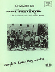 Maine Running Vol. 2 No. 11 November 1981