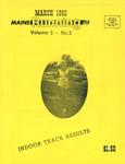 Maine Running Vol. 3 No. 3 March 1982 by Robert E. Booker