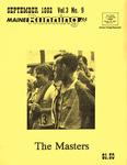 Maine Running Vol. 3 No. 9 September 1982 by Robert E. Booker