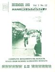 Maine Running Vol. 3 No. 12 December 1982 by Robert E. Booker