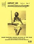 Maine Running Vol. 4 No. 1 January 1983 by Robert E. Booker